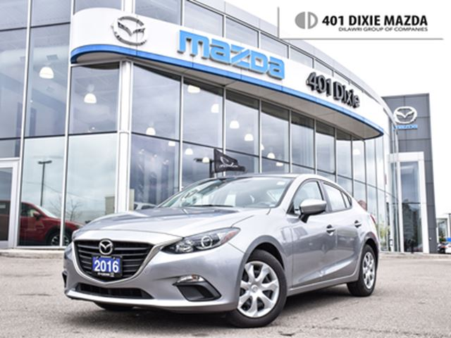 2016 MAZDA MAZDA3 GX 1 OWNER 1.9% FINANCE AVAILABLE NO ACCIDENTS in Mississauga, Ontario