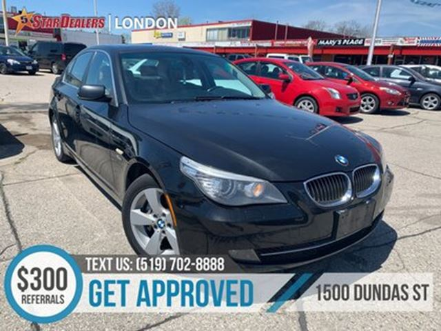 2009 BMW 5 Series i xDrive   LEATHER   ROOF   HEATED SEATS in London, Ontario