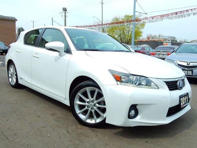 2011 LEXUS CT 200h Hybrid.Leather.Roof.Reverse Camera.Bluetooth.97 in Kitchener, Ontario