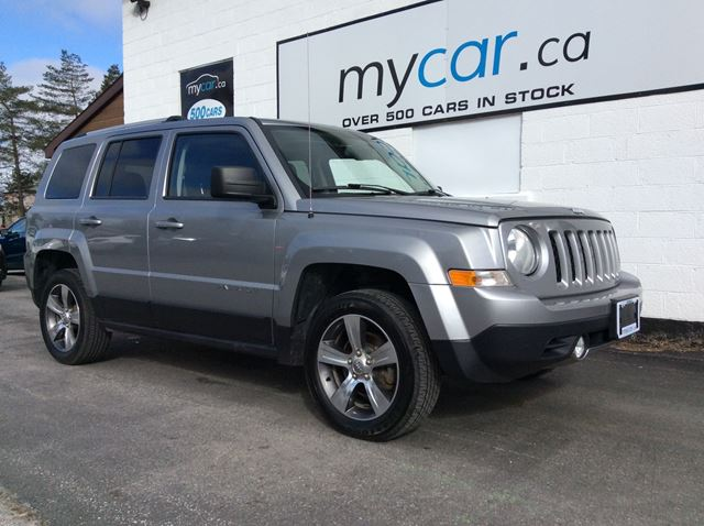 2016 JEEP Patriot Sport/North LEATHER, SUNROOF, HEATED SEATS, HIGH ALTITUDE!! in Richmond, Ontario