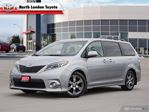 2017 Toyota Sienna SE 8 Passenger One Owner, No Accidents, Toyota Serviced in London, Ontario
