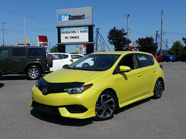 2016 SCION IM SPRING GREEN! ONLY $19 DOWN $63/WKLY!! in Ottawa, Ontario