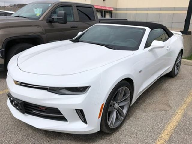 2017 Chevrolet Camaro LT RS V6 AUTO LEATHER NAV HEADS-UP DISPLAY LOW KMS in