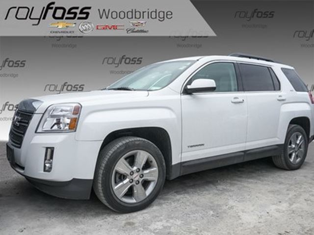 2015 GMC Terrain SLT SUNROOF, LEATHER, NAV, PIONEER in Woodbridge, Ontario