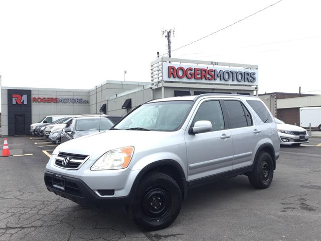 2002 HONDA CR-V EX 4WD - LEATHER - SUNROOF in Oakville, Ontario
