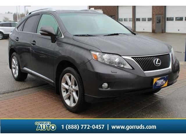 2010 LEXUS RX 350 AWD PREMIUM PKG LEATHER MOONROOF CAMERA BLUETOOTH in Milton, Ontario