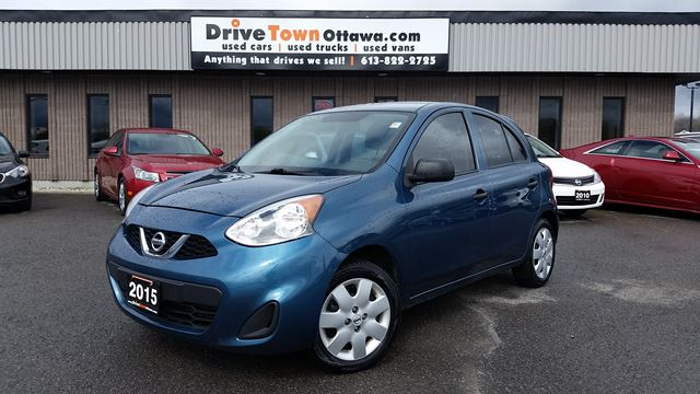 2015 NISSAN Micra S **LOW LOW PAYMENT** in Ottawa, Ontario