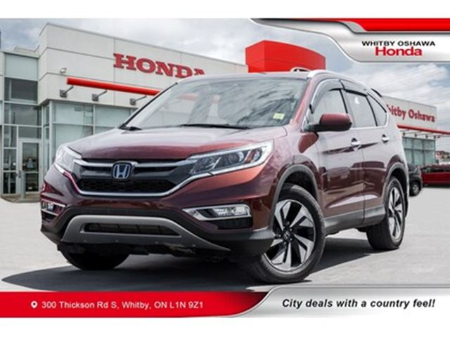 2015 HONDA CR-V Touring   Heated Seats, Navigation, Power Moonroof in Whitby, Ontario