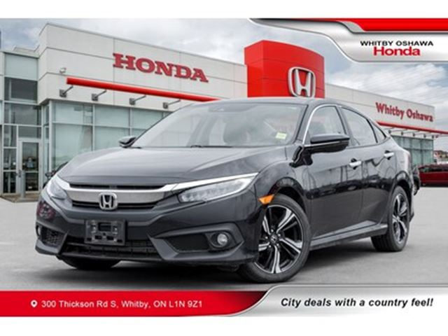 2017 HONDA Civic Touring   Heated Seats, Navigation, Power Moonroof in Whitby, Ontario