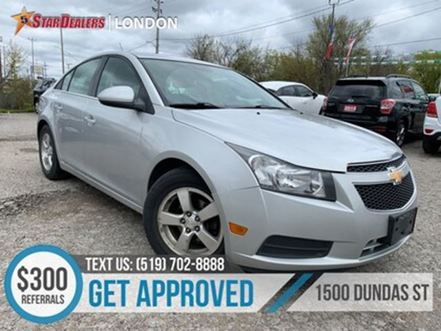 2012 CHEVROLET Cruze LT Turbo   CAR LOANS FOR ALL CREDIT in London, Ontario