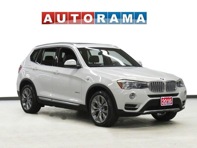 2016 BMW X3 XDRIVE 28D Navigation Leather Sunroof Backup Cam in North York, Ontario