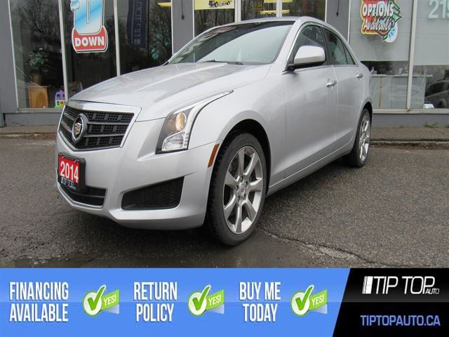 2014 Cadillac ATS 2.0L Turbo ** Clean CarFax, Backup Cam, Sunroof in