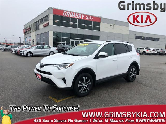2017 Toyota RAV4 AWD CAM HEATED SEATS in