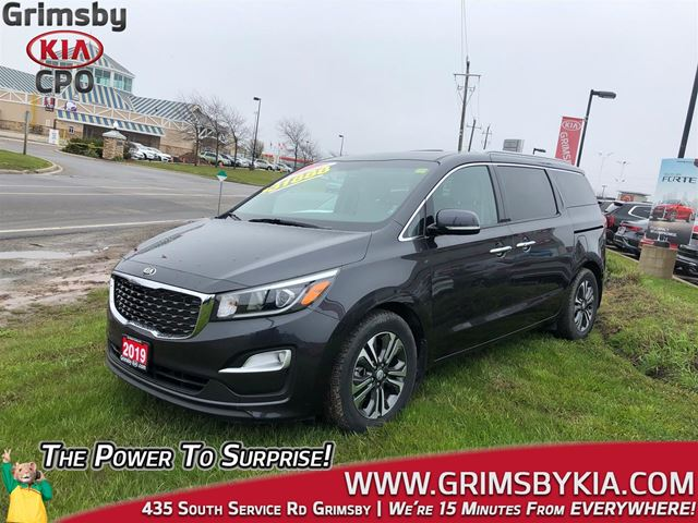 2019 Kia Sedona SX 7 Seat Heat Seat & Steer Backup Cam Sunroof in