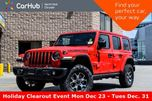 2019 Jeep Wrangler Unlimited Rubicon New Car 4x4 Tech,LED.Lighting,Cold.Wthr,Adv.Safety.Pkgs  in Thornhill, Ontario