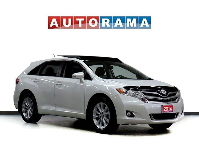 2014 TOYOTA Venza LTD 4WD NAVIGATION LEATHER SUNROOF BACK UP CAM in North York, Ontario