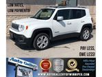 2018 Jeep Renegade Limited *4WD/Htd Lthr/Navi/Roof in Winnipeg, Manitoba