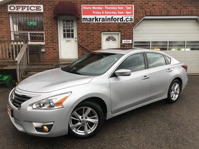 2014 Nissan Altima 2.5 SV Sunroof Back up Cam Bluetooth in