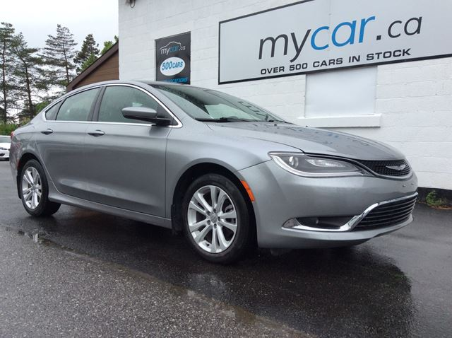 2015 CHRYSLER 200 Limited HEATED SEATS/STEERING WHEEL, ALLOYS, BACKUP CAM!! in Richmond, Ontario