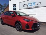 2019 Toyota Corolla SE LEATHER, SUNROOF, HEATED SEATS, MYCAR POWER BUY!! in North Bay, Ontario