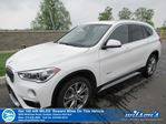 2017 BMW X1 X1 AWD, Panoramic Sunroof, Heated Steering + Seats, Power Seat & Liftgate, Rear Camera, Bluetooth in Guelph, Ontario