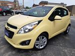 2014 Chevrolet Spark LT,5DR-HATCH,NAVIGATION,BACK-UP CAMARA,LEATHER & CLOTH SEATS,BLUE TOOTH,SYNC in Dunnville, Ontario