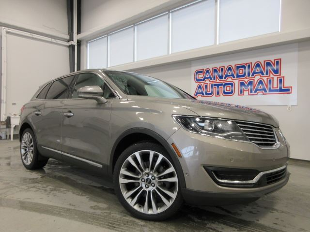 2016 LINCOLN MKX RESERVE AWD, NAV, ROOF, LEATHER, 69K!  in Stittsville, Ontario