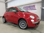2013 Fiat 500 LOUNGE, ROOF, HTD. LEATHER, BT, 44K! in Stittsville, Ontario