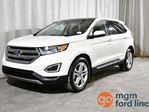 2017 Ford Edge TITANIUM AWD | CANADIAN TOURING PACKAGE | COLD WEATHER PACKAGE | HEATED & COOLED FRONT SEATS | HEATED BACK SEATS | HEATED STEERING WHEEL | NAVIGATION | BACKUP CAMERA in Red Deer, Alberta