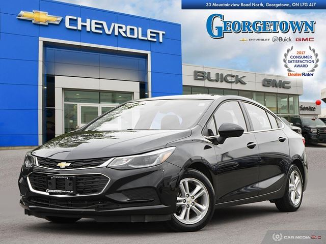 2018 CHEVROLET Cruze LT Auto LT|AUTO|SUNROOF|BOSE AUDIO|REARVIEW CAMERA|HEATED SEATS|REMOTE START in Georgetown, Ontario
