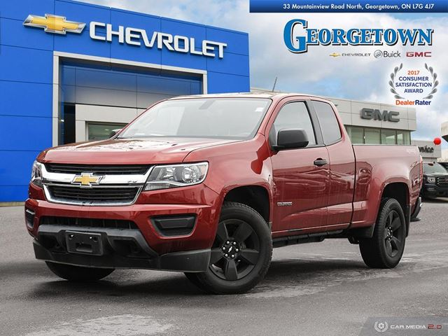 2016 CHEVROLET COLORADO WT WT EXTENDED CAB 4X4 REARVIEW CAMERA BLUETOOTH in Georgetown, Ontario