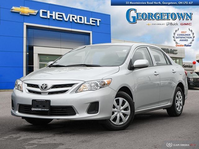2013 TOYOTA COROLLA LE LE in Georgetown, Ontario