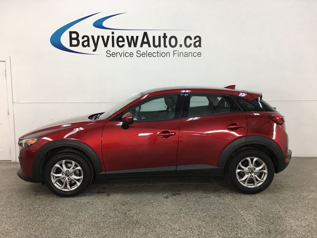 2019 MAZDA CX-3 GS - AWD! ROOF! LTHR TRIM! ALLOYS! REV CAM! + MORE! in Belleville, Ontario