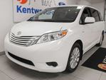 2017 Toyota Sienna LE AWD with power heated seats, rear climate control and back up cam in Edmonton, Alberta