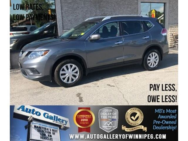 2014 NISSAN Rogue S *Backup Cam/Bluetooth in Winnipeg, Manitoba
