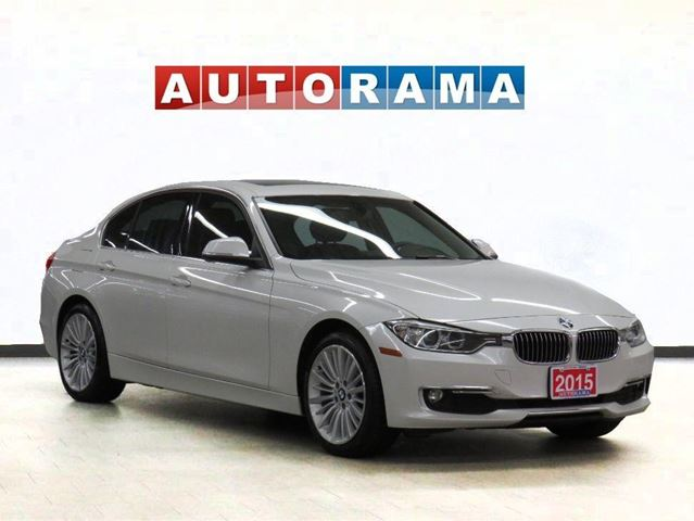 2015 BMW 3 Series XDRIVE NAVIGATION LEATHER SUNROOF in North York, Ontario
