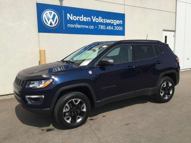 2018 JEEP Compass TRAILHAWK 4WD in Edmonton, Alberta