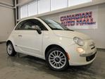 2012 Fiat 500 CONVERTIBLE, LEATHER, A/C, BT, 52K! in Stittsville, Ontario