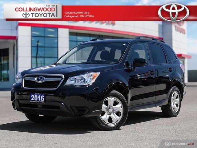 2016 SUBARU Forester 2.5I AWD HEATED SEATS OFF LEASE in Collingwood, Ontario