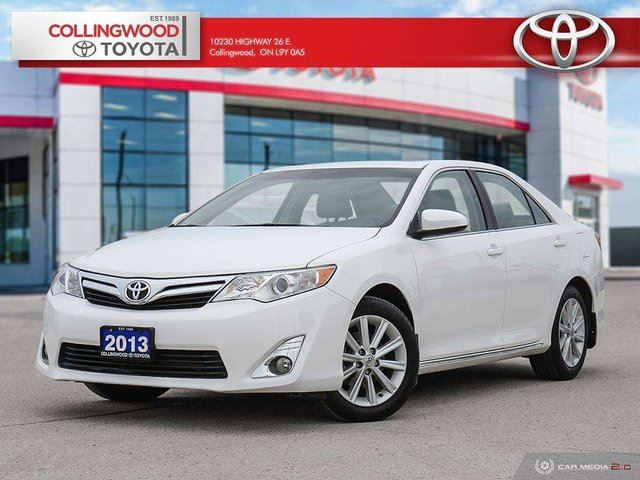 2013 TOYOTA Camry XLE 4 CYL ONE OWNER SOLD AND SERVICED HERE in Collingwood, Ontario