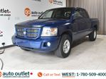 2010 Dodge Dakota CREWCAB, 4X4, POWER WINDOWS, STEERING WHEEL CONTROLS, CRUISE CONTROL, AM/FM RADIO in Edmonton, Alberta