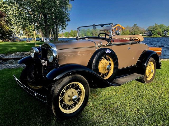 1931 Ford Model A Roadster Completely Restored Perth Ontario Car
