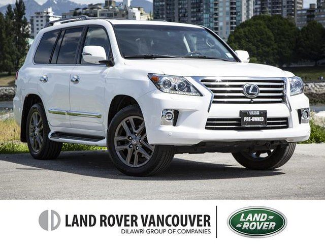 2014 LEXUS LX 570 6A in Vancouver, British Columbia
