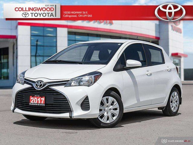 2017 TOYOTA Yaris LE 5DR HATCHBACK SOLD AND SERVICED HERE in Collingwood, Ontario
