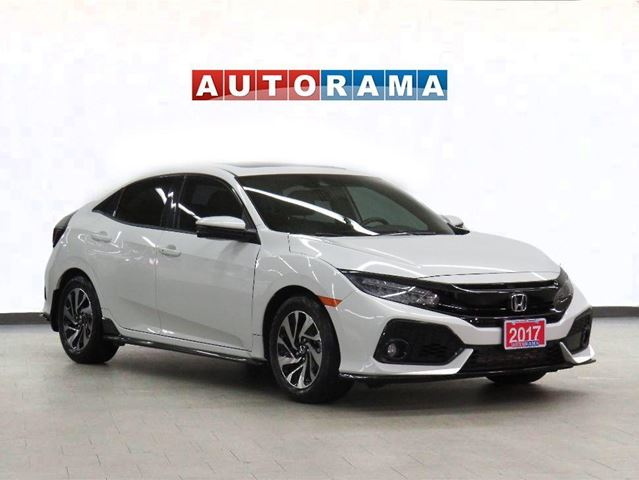 2017 Honda Civic TOURING NAVIGATION LEATHER SUNROOF BACKUP CAM in North York, Ontario