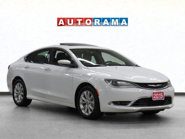 2015 Chrysler 200 C NAVIGATION LEATHER SUNROOF BACKUP CAM in North York, Ontario