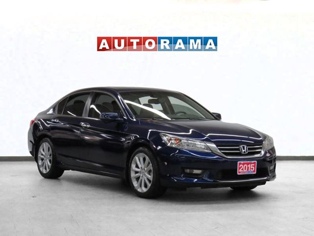 2015 Honda Accord TOURING PKG NAVIGATION LEATHER SUNROOF BACKUP CAM in North York, Ontario