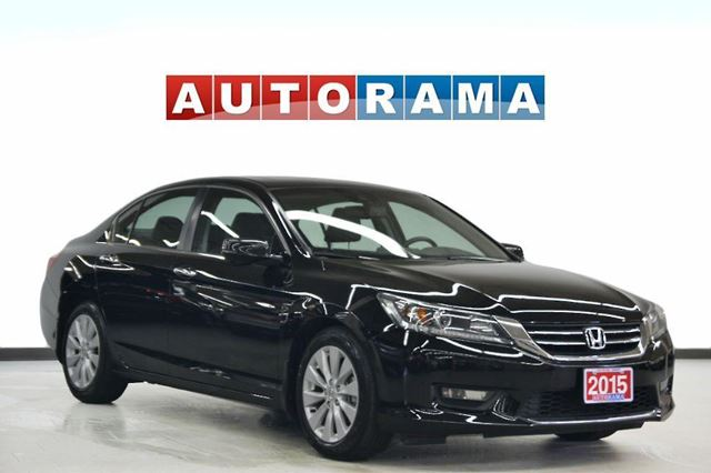 2015 Honda Accord EX-L LEATHER SUNROOF BACKUP CAM in North York, Ontario