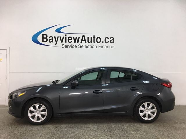 2015 MAZDA MAZDA3 GX - AUTO! BLUETOOTH! A/C! PWR GROUP! in Belleville, Ontario