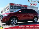 2014 Ford Edge SEL Leather Sunroof Navi Bluetooth Low KMS! in Grimsby, Ontario